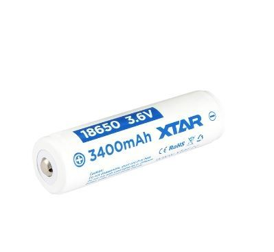 XTAR ( Sanyo) 18650 Akku suojapiirillä 3500 mAh NCR18650GA