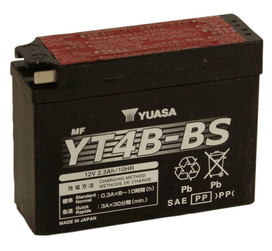 Yuasa YT4B-BS 2,3Ah Maintenance Free Käynnistysakku