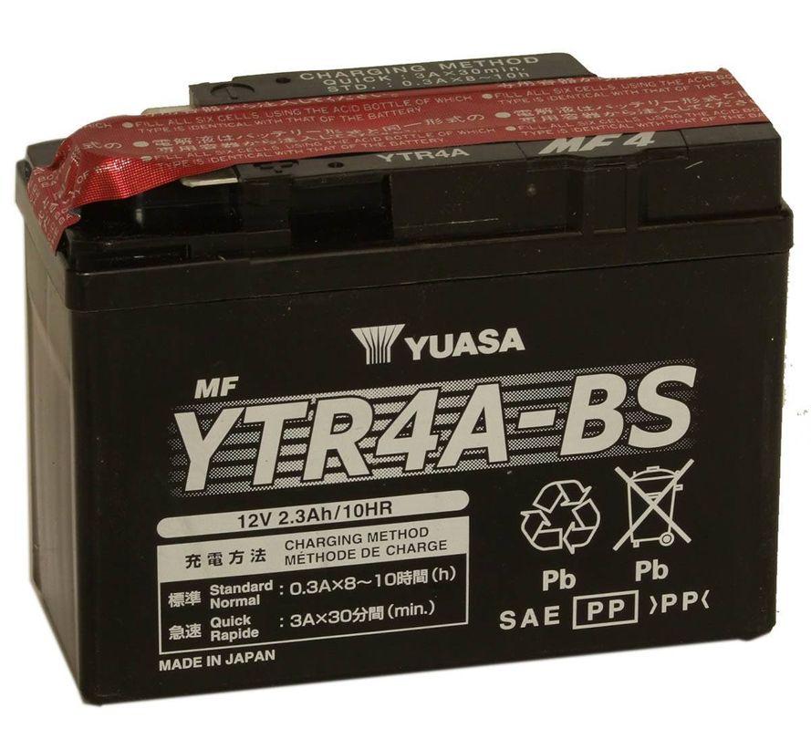 Yuasa YTR4A-BS 2,3Ah Maintenance Free Käynnistysakku